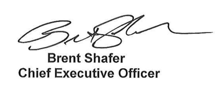 Brent Shafer Signature
