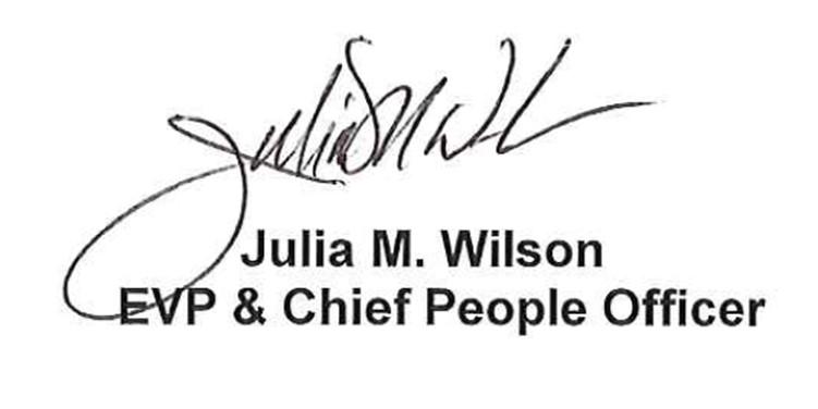 Julia Wilson Signature